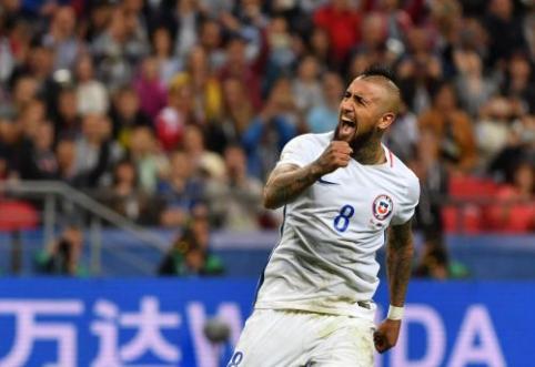 A. Vidalis: Čilė turi šansą tapti geriausia komanda pasaulyje