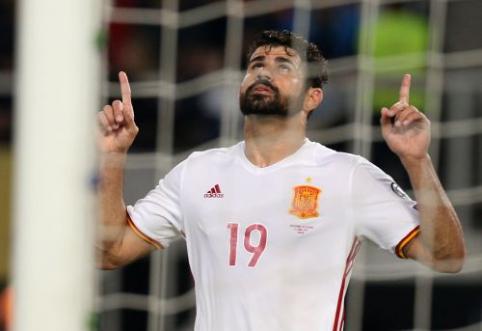 """Transferų draudimą turintis """"Atletico"""" siekia susigrąžinti D. Costa"""