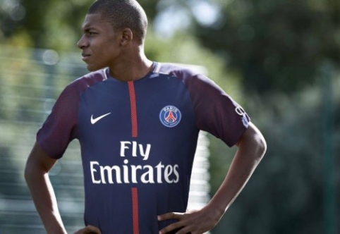 Oficialu: K. Mbappe tapo PSG nariu