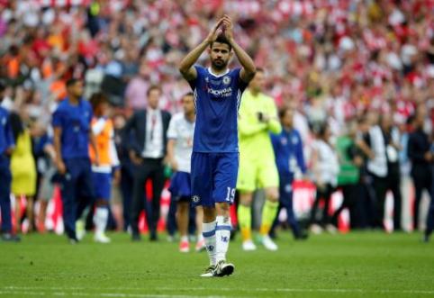 """""""Atletico"""" ir """"Chelsea"""" susitarė dėl D. Costa išpirkos sumos"""