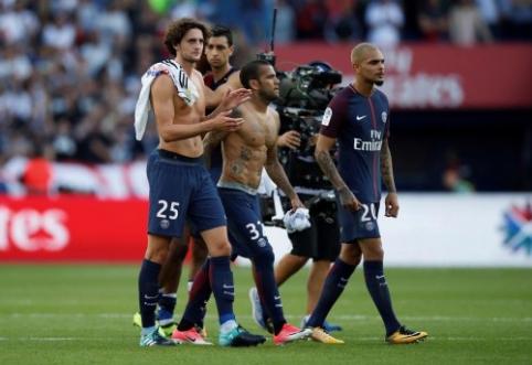 """Pirmajame ture PSG ir """"Lyon"""" šventė pergales, """"Nice"""" pralaimėjo (VIDEO)"""