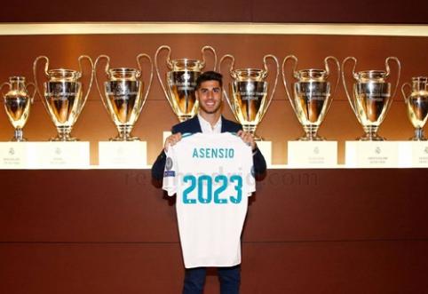 """Apie """"Ballon d'Or"""" negalvojantis M. Asensio: esu dar jaunas ir pasižadu tobulėti"""