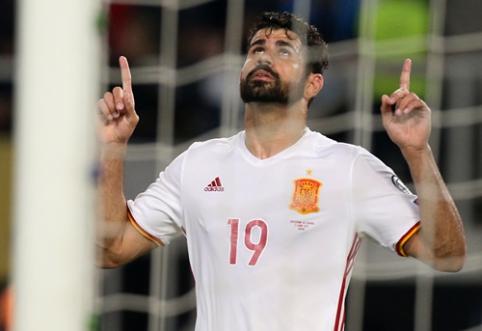 """""""Atletico"""" dėl D. Costos pasirengęs pagerinti klubo rekordą"""