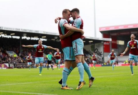"Be T. Heatono likęs ""Burnley"" ""Crystal Palace"" paliko be taškų, ""Newcastle"" palaužė ""Swansea"" (VIDEO)"
