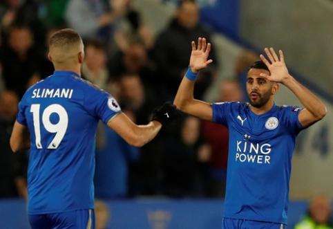 """""""Leicester"""" išplėšė tašką rungtynėse su """"West Brom"""" (VIDEO)"""