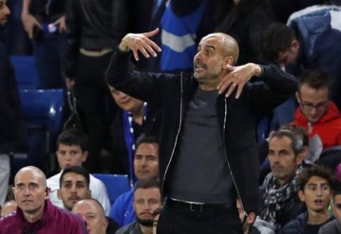 """P. Guardiola: """"Barcos"""" mačas su """"Las Palmas"""" turėjo nevykti"""