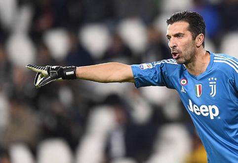 """G. Buffonui – pikta """"Parma"""" ultrų žinutė"""