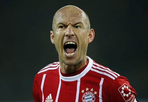 Oficialu: A. Robbenas baigė profesionalo karjerą