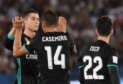 """""""Real"""" po atkaklios kovos pateko į pasaulio klubų taurės finalą (VIDEO)"""