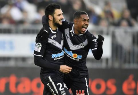 """""""Bordeaux"""" netikėtai parklupdė """"Lyon"""", """"Marseille"""" ir """"Monaco"""" sužaidė lygiosiomis (VIDEO)"""