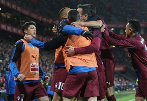 """Athletic"" ir ""Eibar"" dvikovoje - lygiosios (VIDEO)"