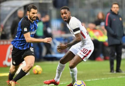 """""""Serie A"""": favoritai iškovojo pergales, """"Roma"""" ir """"Inter"""" akistatoje - kovingos lygiosios (VIDEO)"""