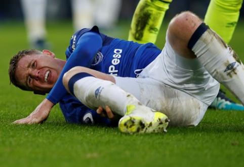 """""""Everton"""" saugas patyrė šiurpią traumą, po kurios apsiverkė ir varžovų žaidėjas (VIDEO)"""