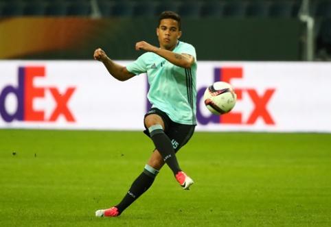 """""""Ajax"""" perlas J. Kluivertas: noriu būti toks pat geras, koks buvo mano tėvas"""