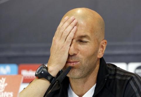 """Z. Zidane'as: """"Real"""" gretose 10 metų neužsibūsiu"""