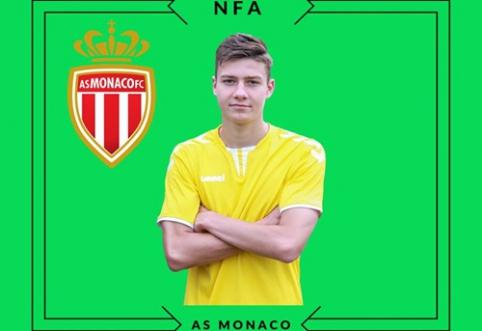 """Septyniolikmetis lietuvis pasirašė kontraktą su """"Monaco"""" ekipa"""