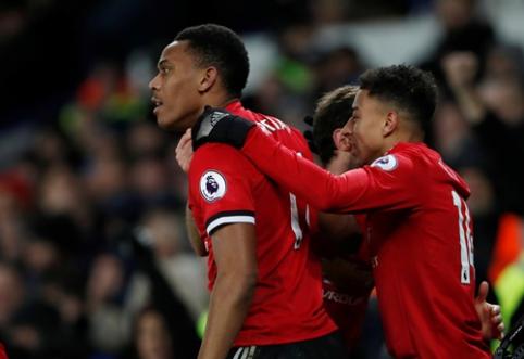 """Du puikūs įvarčiai nutraukė """"Man Utd"""" lygiųjų seriją """"Premier"""" lygoje (VIDEO)"""