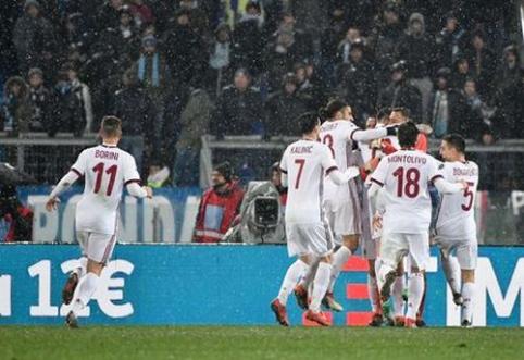 """""""Milan"""" po baudinių serijos keliauja į """"Coppa Italia"""" finalą, kur susitiks su """"Juventus"""" (VIDEO)"""