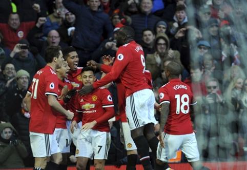 """""""Man Utd"""" namuose pranoko """"Chelsea"""", H. Kane'as atvedė """"Tottenham"""" į pergalę (VIDEO)"""