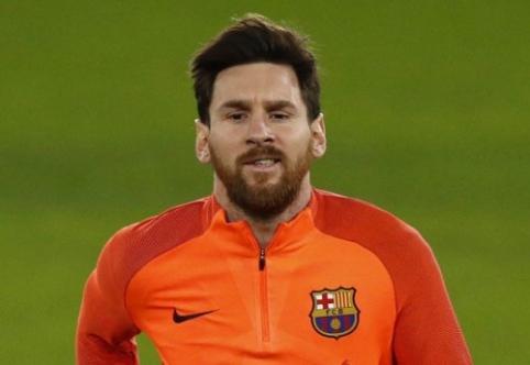 I. Rakitičius: Messi pradėjo dažnai lankytis treniruoklių salėje