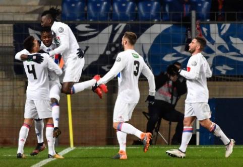 """""""Lyon"""" prasibrovė į Prancūzijos taurės ketvirtfinalį (VIDEO)"""