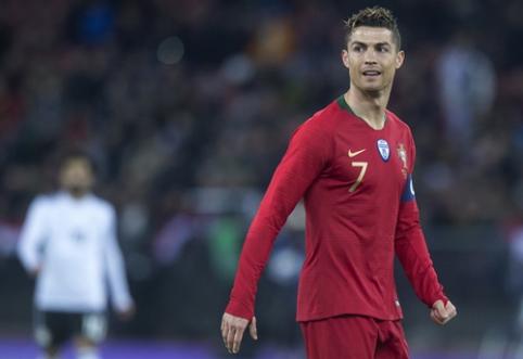 R. Koemanas: C. Ronaldo yra vienas tų žaidėjų, kurie visada pelno įvarčius