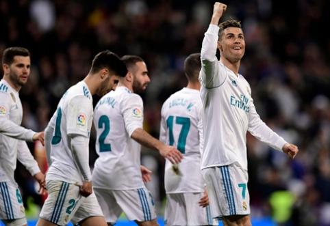 """Devynių įvarčių dvikova pažymėta C. Ronaldo """"pokeriu"""", """"Atletico"""" krito prieš """"Villarreal"""" (VIDEO)"""