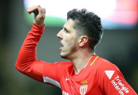 """""""Monaco"""" atsigavo po praleisto įvarčio ir įveikė """"Lille"""" (VIDEO)"""