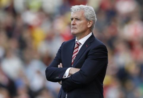 """""""Southampton"""" komandai iki sezono pabaigos vadovaus M. Hughesas"""