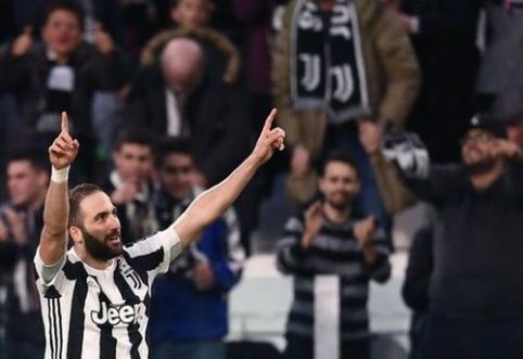 """""""Juventus"""" susitvarkė su """"Atalanta"""" (VIDEO)"""