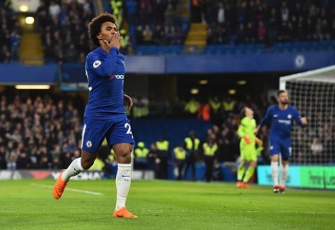 """""""Chelsea"""" įveikė """"Crystal Palace"""", """"West Ham"""" buvo sutriuškintas namuose (VIDEO)"""