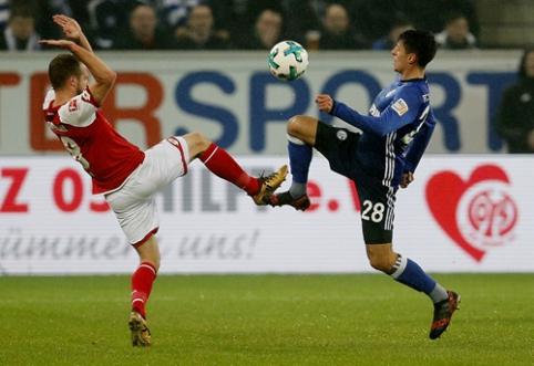 """""""Schalke"""" antroje rungtynių pusėje palaužė """"Mainz"""" (VIDEO)"""