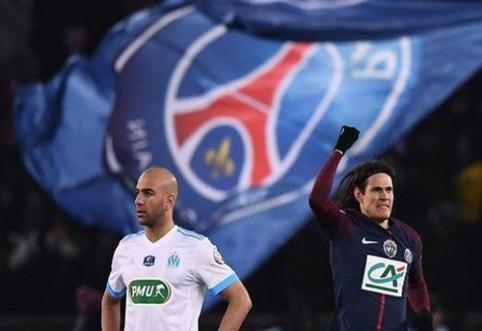 PSG lengvai žengė į Prancūzijos taurės pusfinalį, ketverte – dvi trečios lygos komandos (VIDEO)