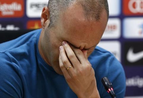 Z. Zidane'o atsisveikinimas su A. Iniesta: kalbame apie žaidėją, kuris išpildė daugelio svajones