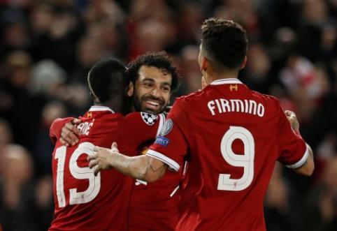 """""""Liverpool"""" įsirašė į Čempionų lygos istoriją"""