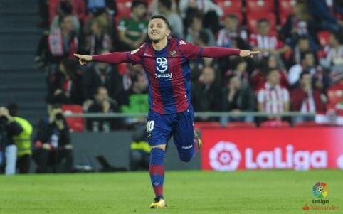 ''Athletic'' namuose nusileido ''Levante'' futbolininkams (VIDEO)