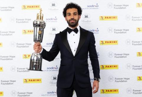 """M. Salah - geriausias """"Premier"""" lygos žaidėjas"""