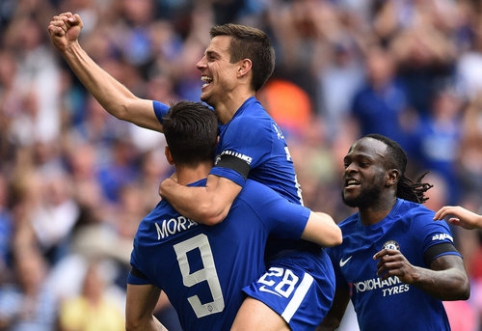 FA taurės finale - ''Chelsea'' ir ''Man Utd'' klubų dvikova (VIDEO)
