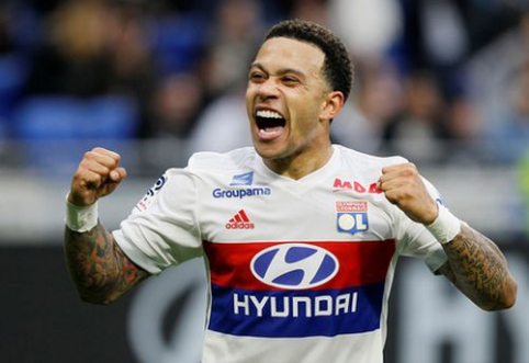 """""""Rennes"""" ir """"Nantes"""" pasidalino po tašką, """"Lyon"""" sutriuškino """"Dijon"""" (VIDEO)"""