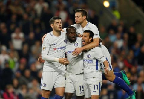 V. Mosesas atvedė ''Chelsea'' į pergalę ''Premier'' lygoje (VIDEO)