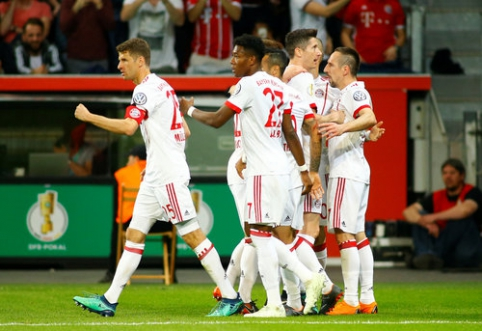 Varžovus sutriuškinęs ''Bayern'' - Vokietijos taurės finale (VIDEO)