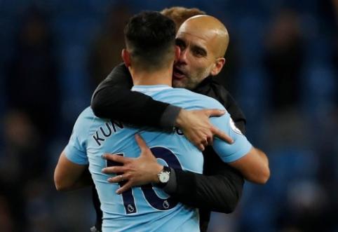 S. Aguero: Guardiola padarė mane geresniu žaidėju