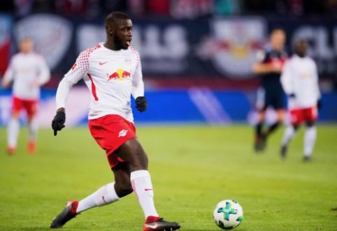 """""""Barca"""" rengia įspūdingą pasiūlymą už """"RB Leipzig"""" gynėją"""