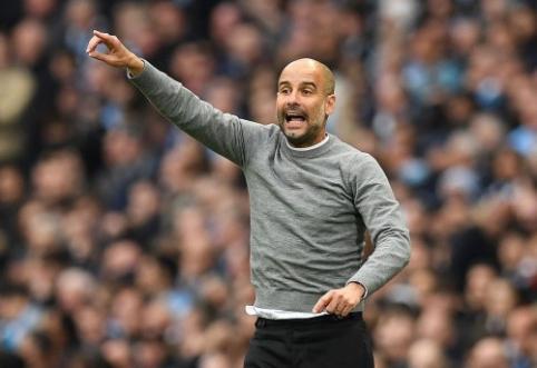 Guardiola taps brangiausiu apmokamu pasaulio treneriu