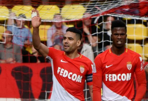 """""""Monaco"""" įveikė """"Nantes"""", """"Lille"""" niekaip nepakyla iš pavojingos zonos (VIDEO)"""