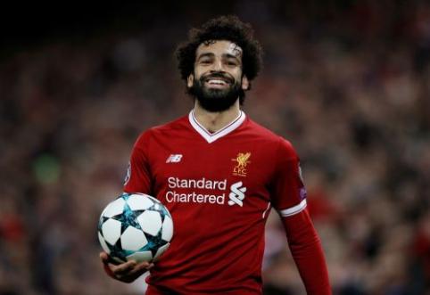 """J. Kloppas: darome viską, kad M. Salah žaistų prieš """"Everton"""""""