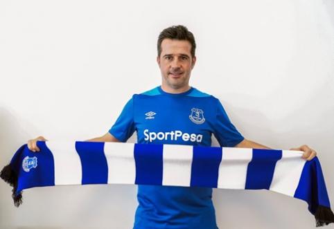 """Oficialu: M. Silva tapo naujuoju """"Everton"""" treneriu"""