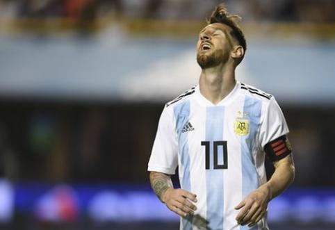 L. Messi: pasaulio čempionate nebūsime kandidatai į titulą