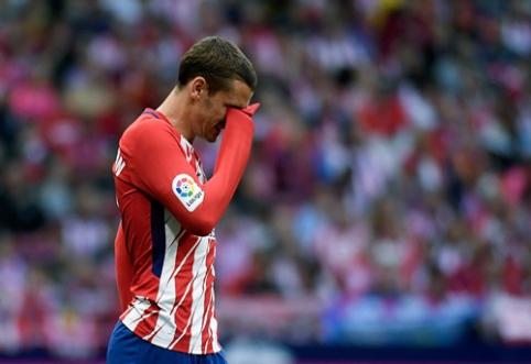 """A. Griezmanno ašaros: ar besąlyginio """"Atletico"""" narių palaikymo sulaukęs prancūzas liks ekipoje? (straipsnis, VIDEO)"""