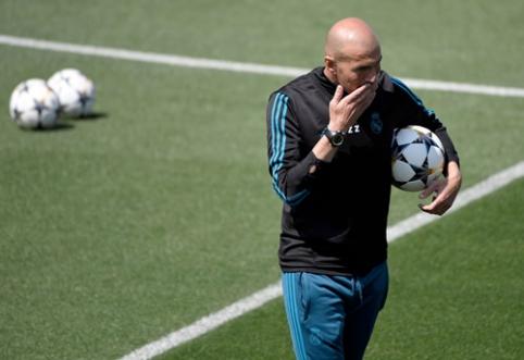 """Z. Zidane'as: nepasakyčiau, kad """"Liverpool"""" yra alkanesnis už mus"""